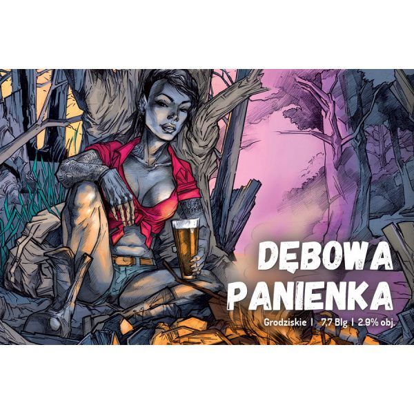 debowa-panienka_etykieta