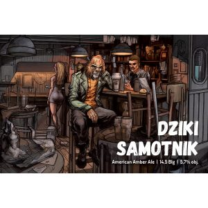 dziki-samotnik_etykieta